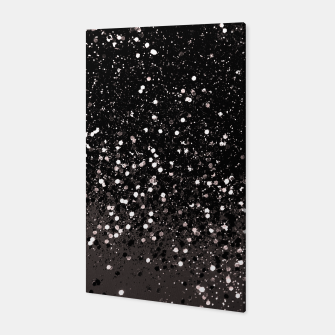 Imagen en miniatura de Blush Gray Black Lady Glitter #2 #shiny #decor #art Canvas, Live Heroes