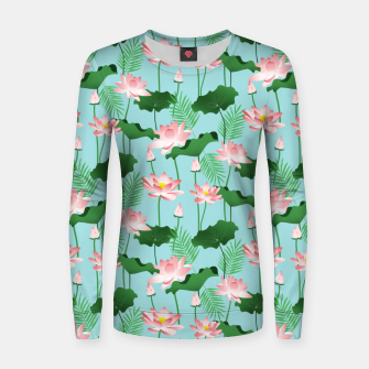 Thumbnail image of Lotus Love II Women sweater, Live Heroes