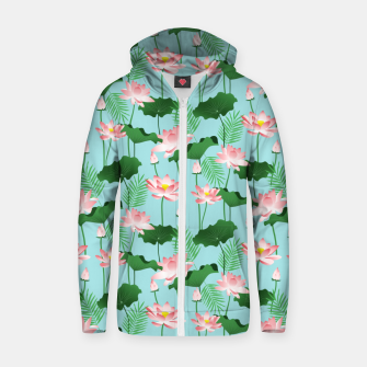 Lotus Love II Zip up hoodie thumbnail image
