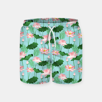 Thumbnail image of Lotus Love II Swim Shorts, Live Heroes