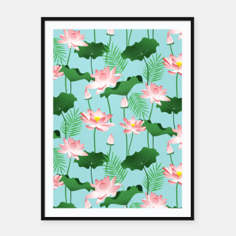 Lotus Love II Framed poster thumbnail image
