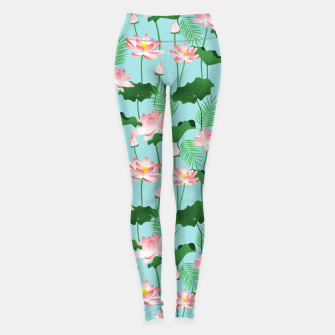 Thumbnail image of Lotus Love II Leggings, Live Heroes