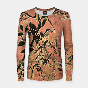 Thumbnail image of Floral Grungy Style Artwork  Women sweater, Live Heroes