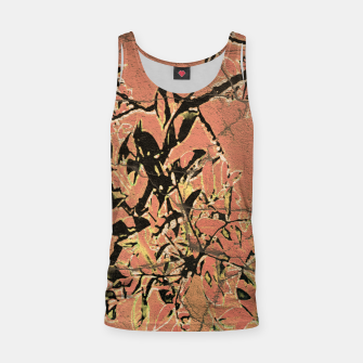 Miniaturka Floral Grungy Style Artwork  Tank Top, Live Heroes