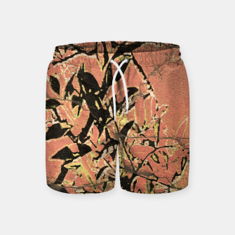 Miniaturka Floral Grungy Style Artwork  Swim Shorts, Live Heroes