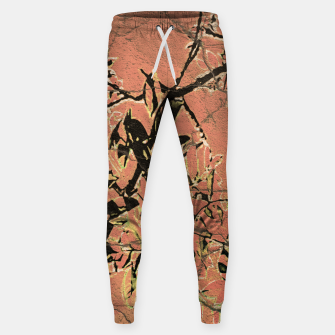 Thumbnail image of Floral Grungy Style Artwork  Sweatpants, Live Heroes