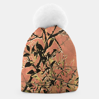 Miniaturka Floral Grungy Style Artwork  Beanie, Live Heroes
