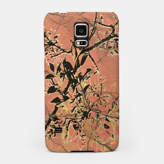 Miniaturka Floral Grungy Style Artwork  Samsung Case, Live Heroes