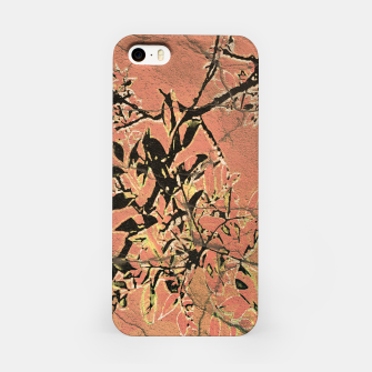 Thumbnail image of Floral Grungy Style Artwork  iPhone Case, Live Heroes