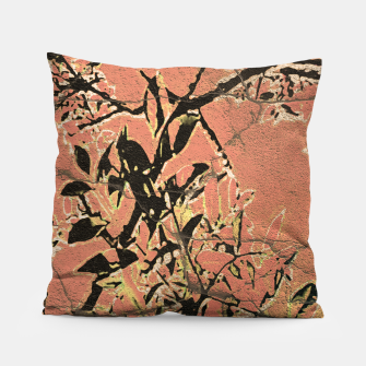 Miniaturka Floral Grungy Style Artwork  Pillow, Live Heroes