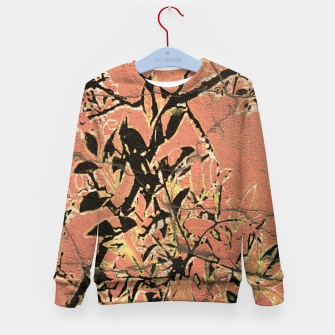 Thumbnail image of Floral Grungy Style Artwork  Kid's sweater, Live Heroes