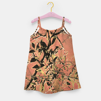 Thumbnail image of Floral Grungy Style Artwork  Girl's dress, Live Heroes