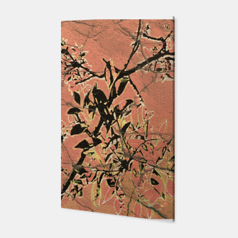 Thumbnail image of Floral Grungy Style Artwork  Canvas, Live Heroes