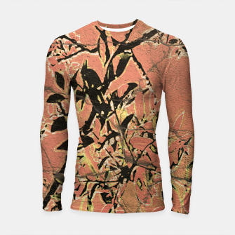 Thumbnail image of Floral Grungy Style Artwork  Longsleeve rashguard , Live Heroes
