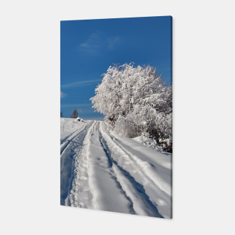Thumbnail image of Winter landscape  transylvania Canvas, Live Heroes