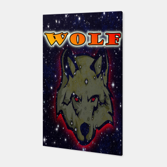 Thumbnail image of Wild wolf Canvas, Live Heroes