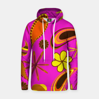 Thumbnail image of Vintage diversity on purple Sudadera con capucha, Live Heroes