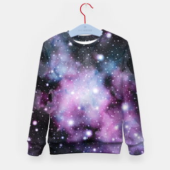 Miniaturka Unicorn Galaxy Nebula Dream #2 #decor #art  Kindersweatshirt, Live Heroes