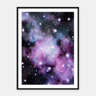 Miniaturka Unicorn Galaxy Nebula Dream #2 #decor #art  Plakat mit rahmen, Live Heroes