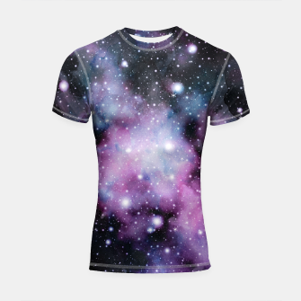 Miniaturka Unicorn Galaxy Nebula Dream #2 #decor #art  Shortsleeve rashguard, Live Heroes