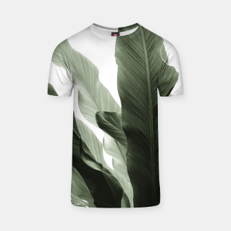 Miniaturka Banana Leaves Jungle #7 #tropical #decor #art T-Shirt, Live Heroes