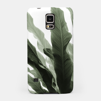 Miniaturka Banana Leaves Jungle #7 #tropical #decor #art Handyhülle für Samsung, Live Heroes
