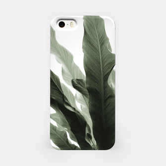 Miniaturka Banana Leaves Jungle #7 #tropical #decor #art iPhone-Hülle, Live Heroes