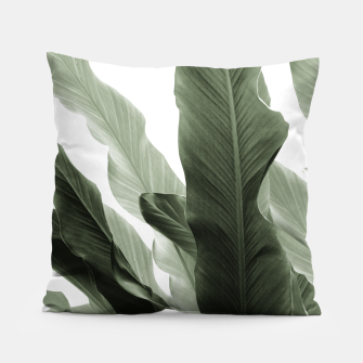 Miniaturka Banana Leaves Jungle #7 #tropical #decor #art Kissen, Live Heroes