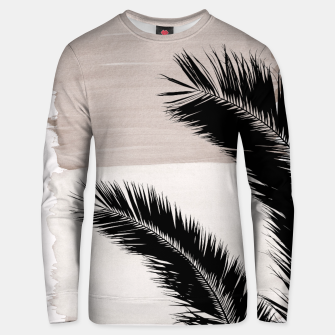 Miniatur Palms Abstract - Naturelle #1 #minimal #wall #decor #art Unisex sweatshirt, Live Heroes