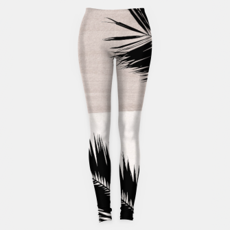 Miniature de image de Palms Abstract - Naturelle #1 #minimal #wall #decor #art Leggings, Live Heroes