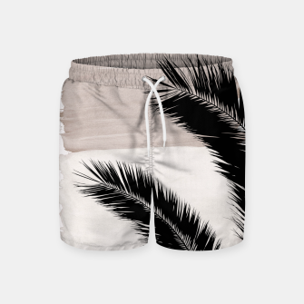 Miniature de image de Palms Abstract - Naturelle #1 #minimal #wall #decor #art Badeshorts, Live Heroes