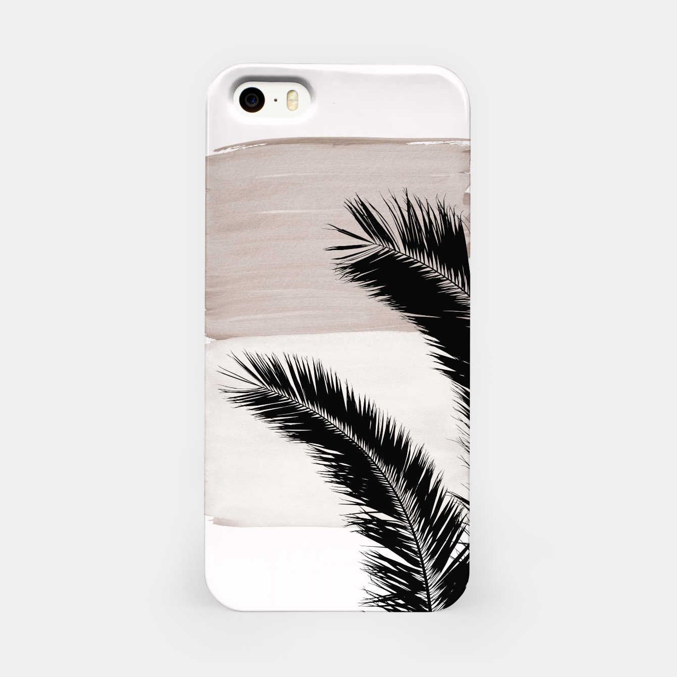 Foto Palms Abstract - Naturelle #1 #minimal #wall #decor #art iPhone-Hülle - Live Heroes