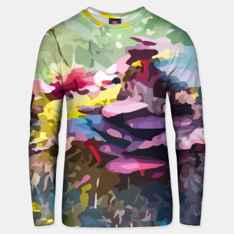 Rainbow forest Unisex sweater thumbnail image