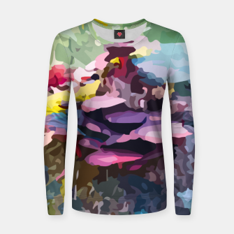 Thumbnail image of Rainbow forest Women sweater, Live Heroes