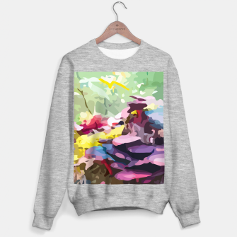Thumbnail image of Rainbow forest Sweater regular, Live Heroes
