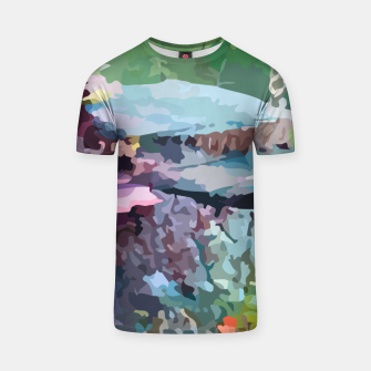 Thumbnail image of Rainbow forest T-shirt, Live Heroes
