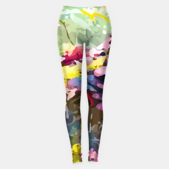 Thumbnail image of Rainbow forest Leggings, Live Heroes