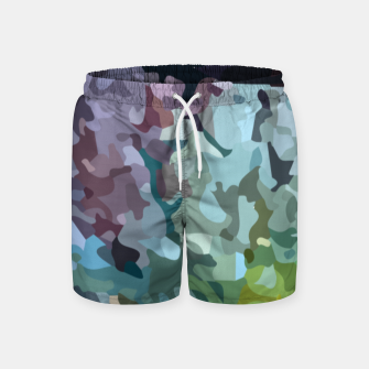 Thumbnail image of Rainbow forest Swim Shorts, Live Heroes
