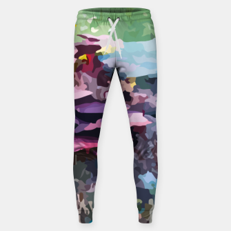 Thumbnail image of Rainbow forest Sweatpants, Live Heroes