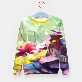 Rainbow forest Kid's sweater thumbnail image