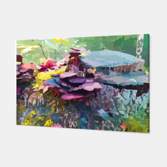 Rainbow forest Canvas thumbnail image