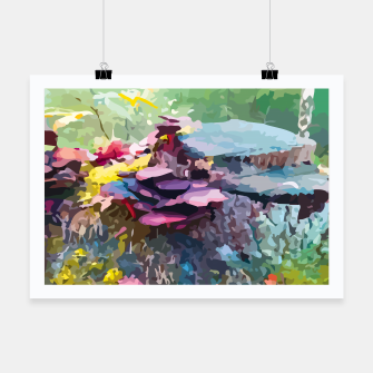 Thumbnail image of Rainbow forest Poster, Live Heroes