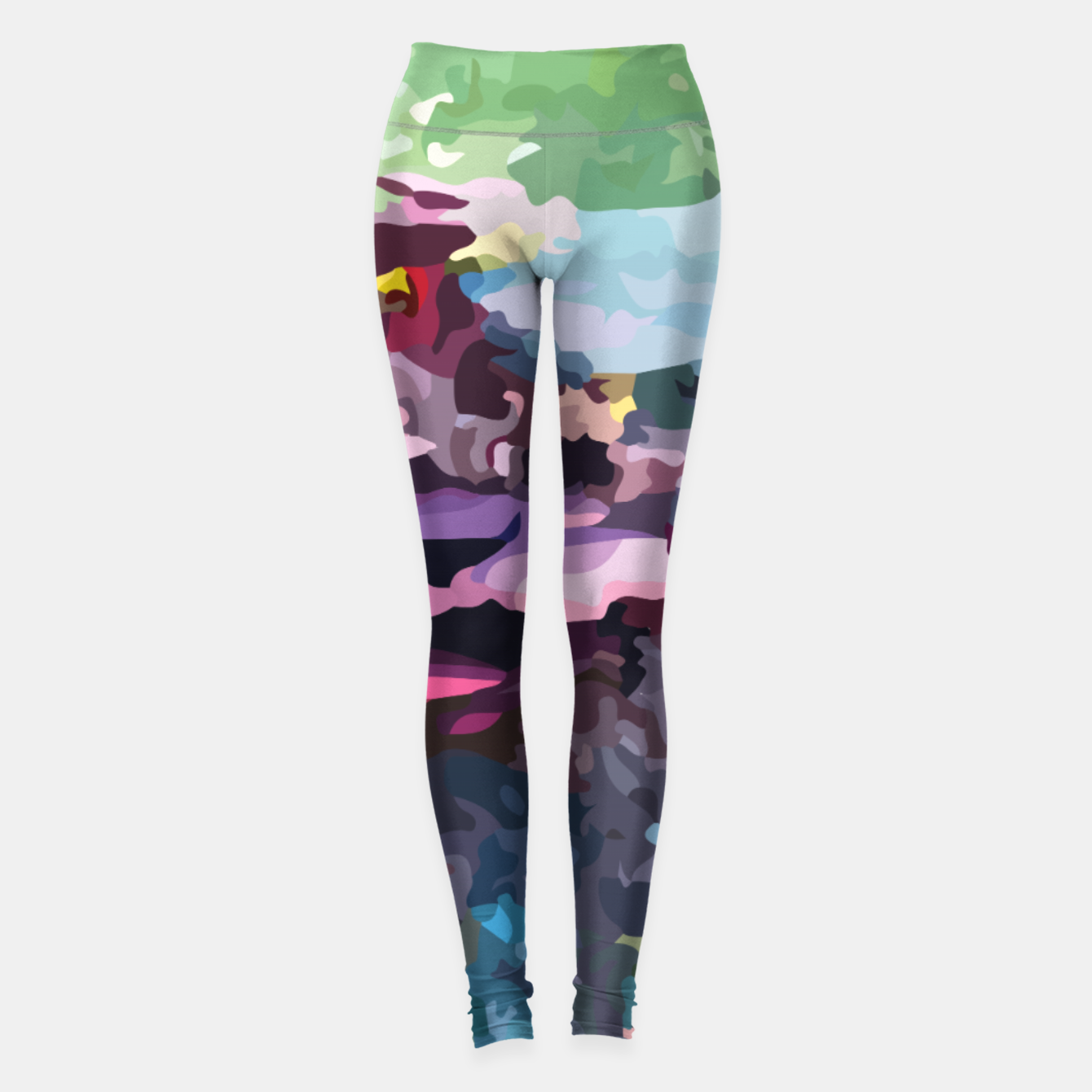 Image of Rainbow forest Leggings - Live Heroes