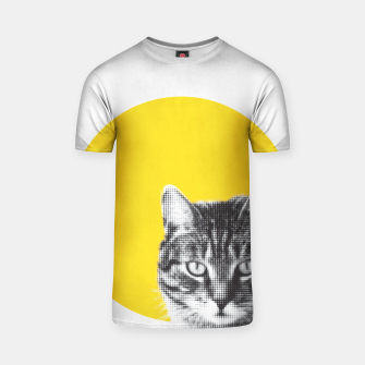Thumbnail image of Cat stare T-shirt, Live Heroes