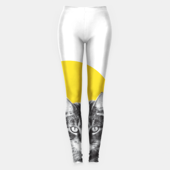 Miniatur Cat stare Leggings, Live Heroes