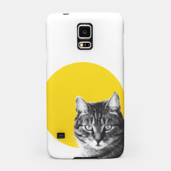 Thumbnail image of Cat stare Samsung Case, Live Heroes