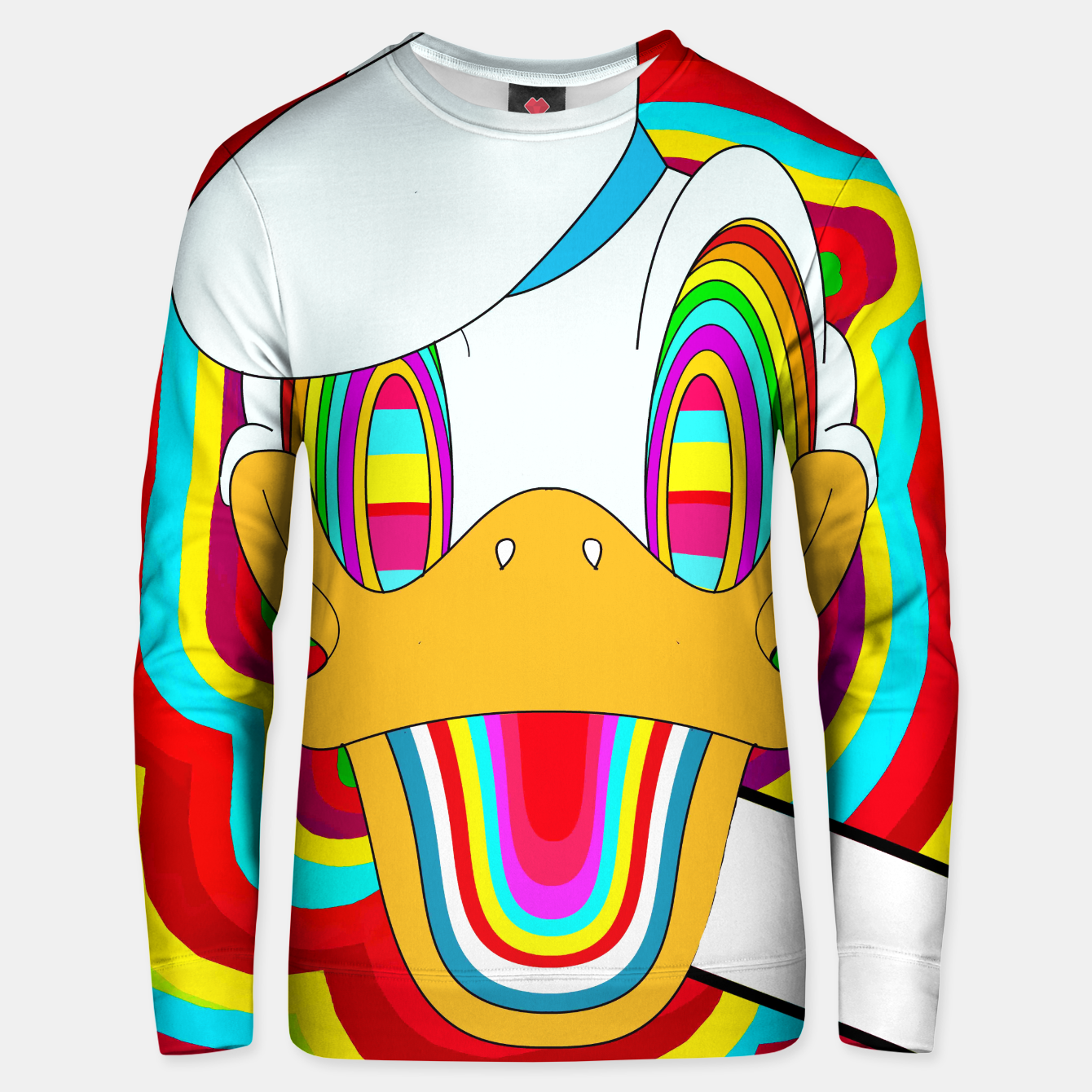Image of Dizzy Donald Sweater - Live Heroes