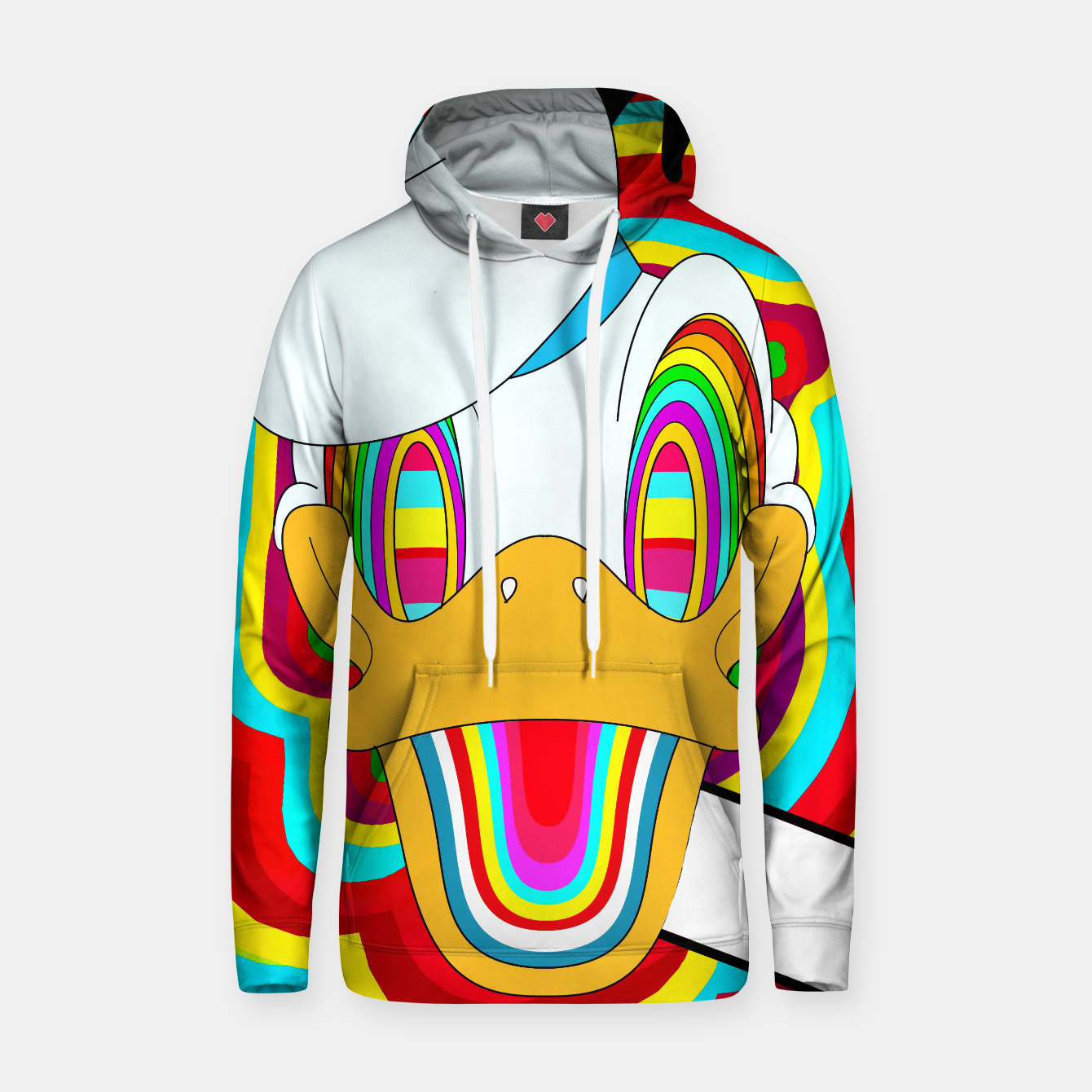Image of Dizzy Donald Hoodie - Live Heroes