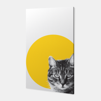 Thumbnail image of Cat stare Canvas, Live Heroes
