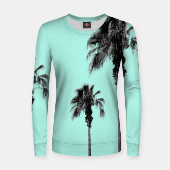 Miniature de image de Boho Palm Trees Dream #1 #minimal #tropic #decor #art Frauen sweatshirt, Live Heroes